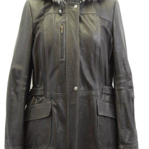 Women Leather Jacket-809