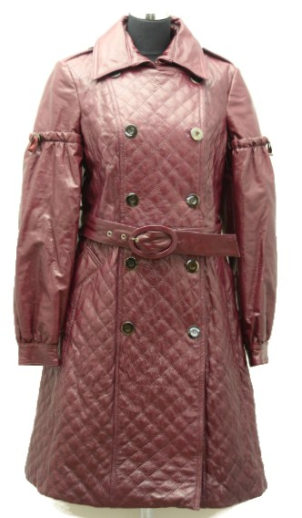 Women Leather Coat-795