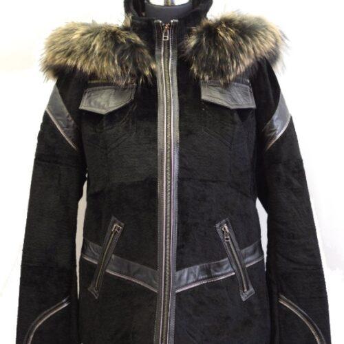 Women Furs Rabbit Jacket-828