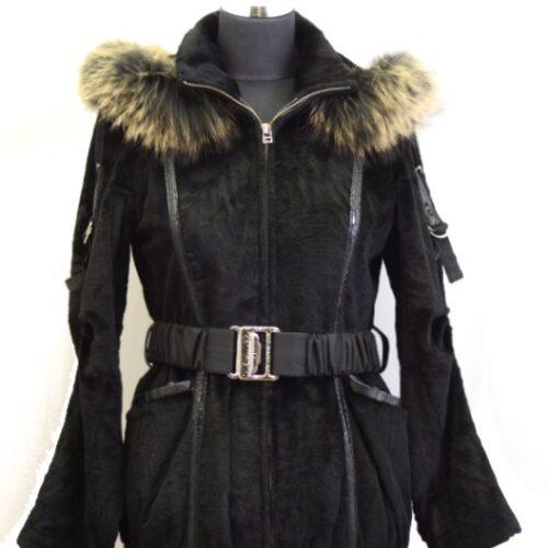 Women Furs Rabbit Jacket-831
