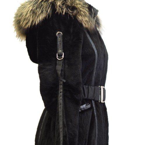 Women Furs Rabbit Jacket-0