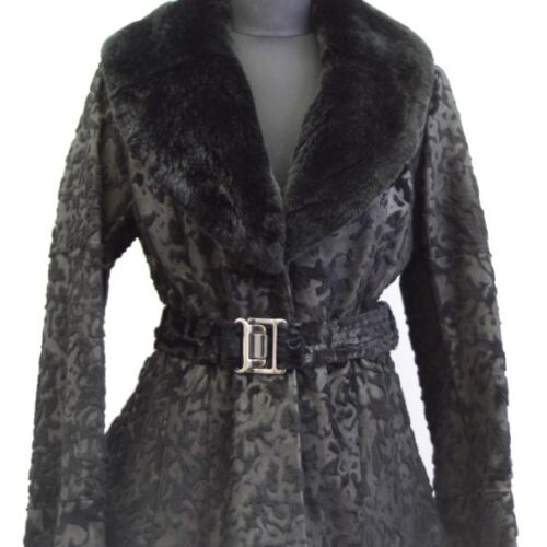Women Furs Rabbit Jacket-837