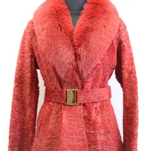Women Furs Rabbit Jacket-838