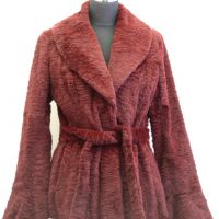 Women Furs Rabbit Jacket-840