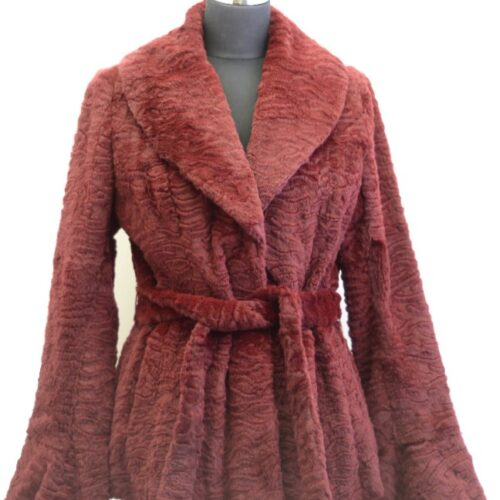 Women Furs Rabbit Jacket-840