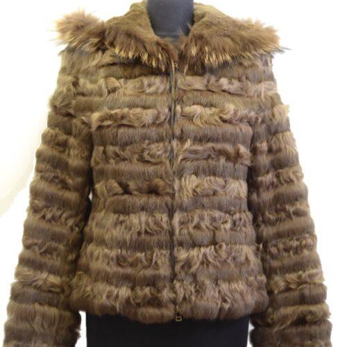 Women Furs Rabbit Jacket-842