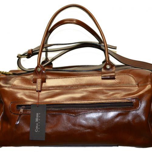 Leather Travel Suitcase-1515