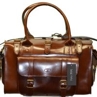 Leather Travel Suitcase-1521
