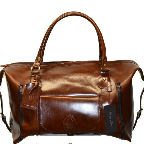 Leather Travel Suitcase-1529