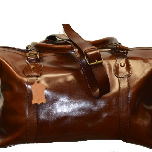 Leather Travel Suitcase-1528