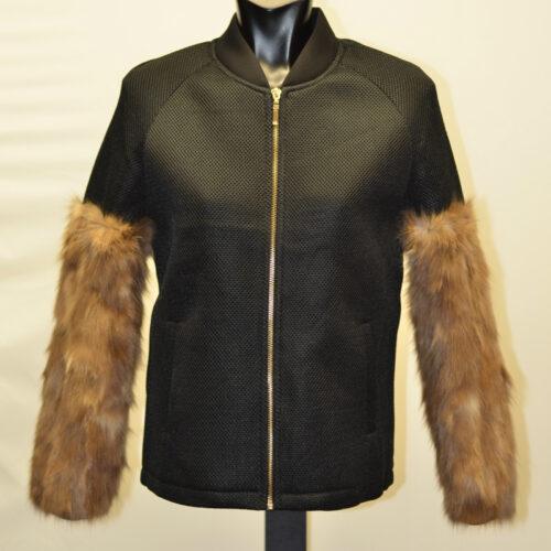 Women Jacket With Fur-1873